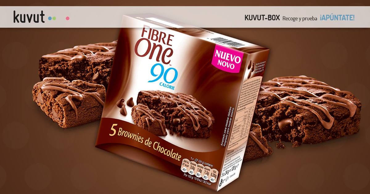 FIBRE ONE BROWNIES DE CHOCOLATE