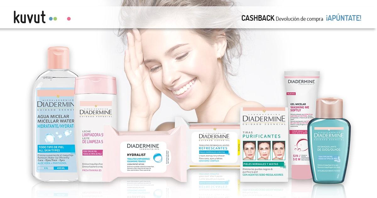 Cashback Diadermine Limpieza