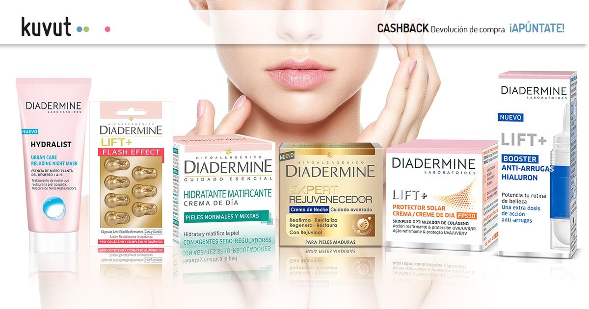 Cashback Diadermine Cremas