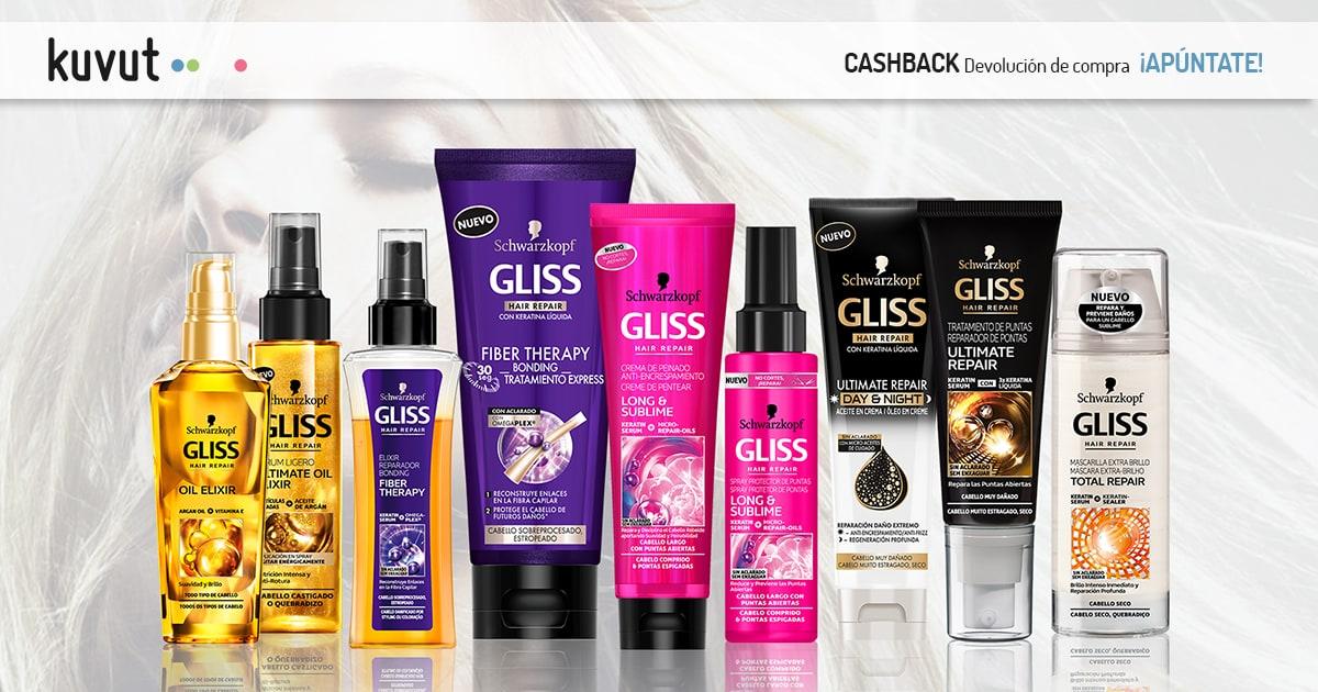 Cashback Gliss Tratamiento