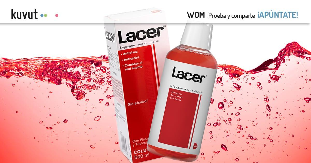 ¡Nueva campaña del Colutorio Lacer!