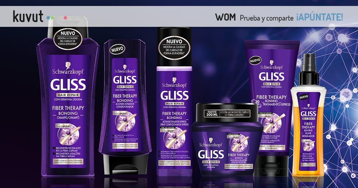 Gliss Fiber Therapy Bonding con Omegaplex®