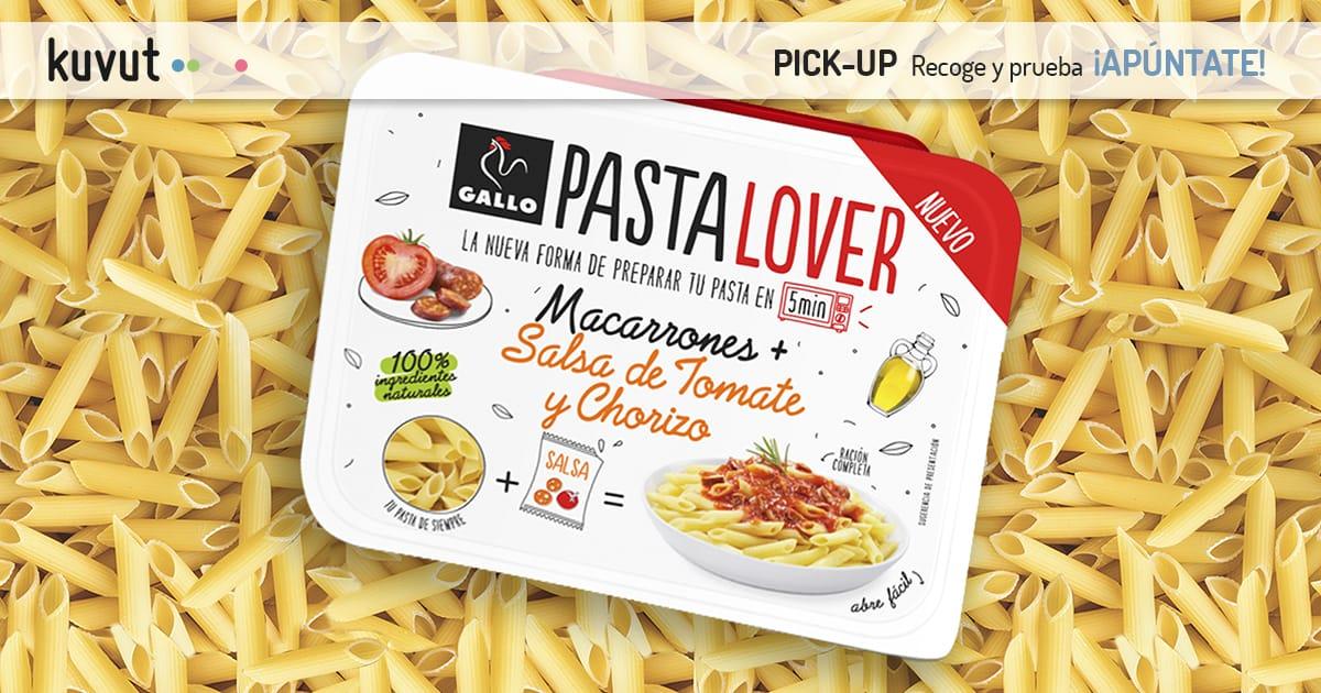 Pasta Lover Macarrones con tomate y chorizo