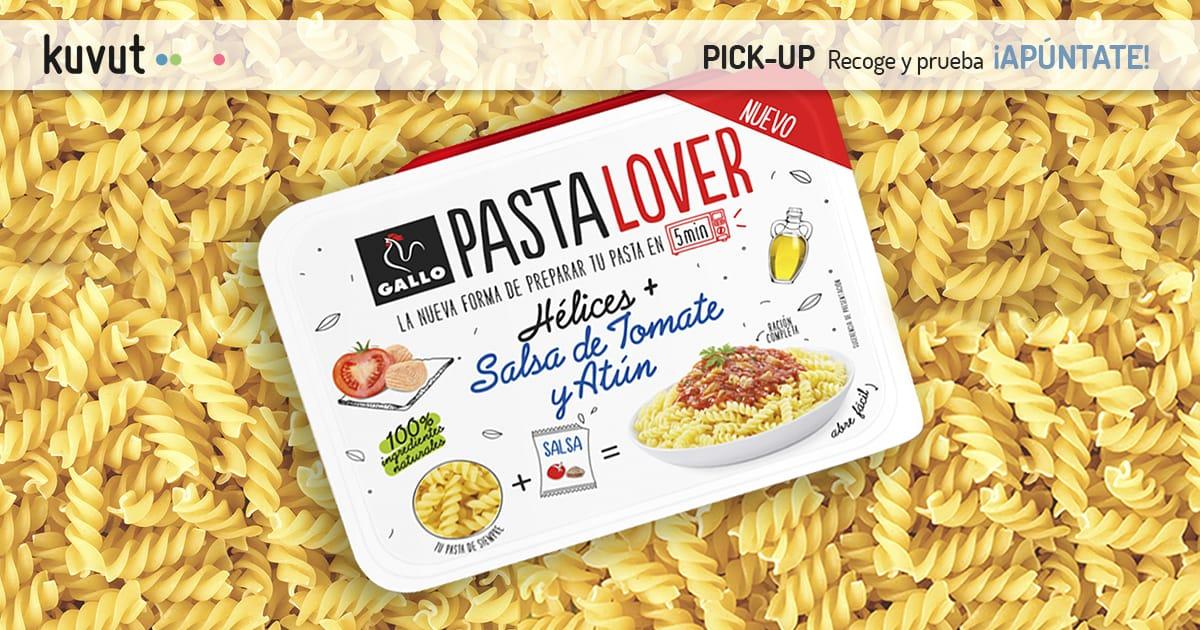 Pasta Lover Hélices con tomate y atún