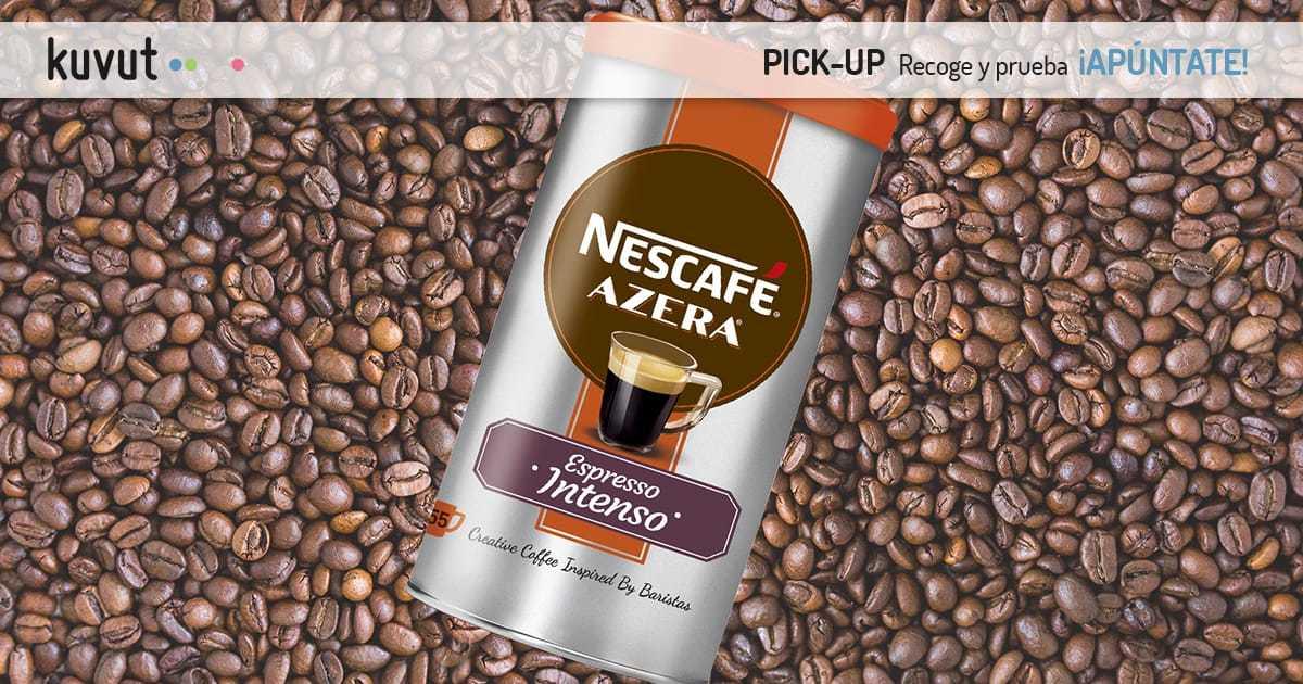 Pick-up sampling: Nescafé Azera Espresso Intenso