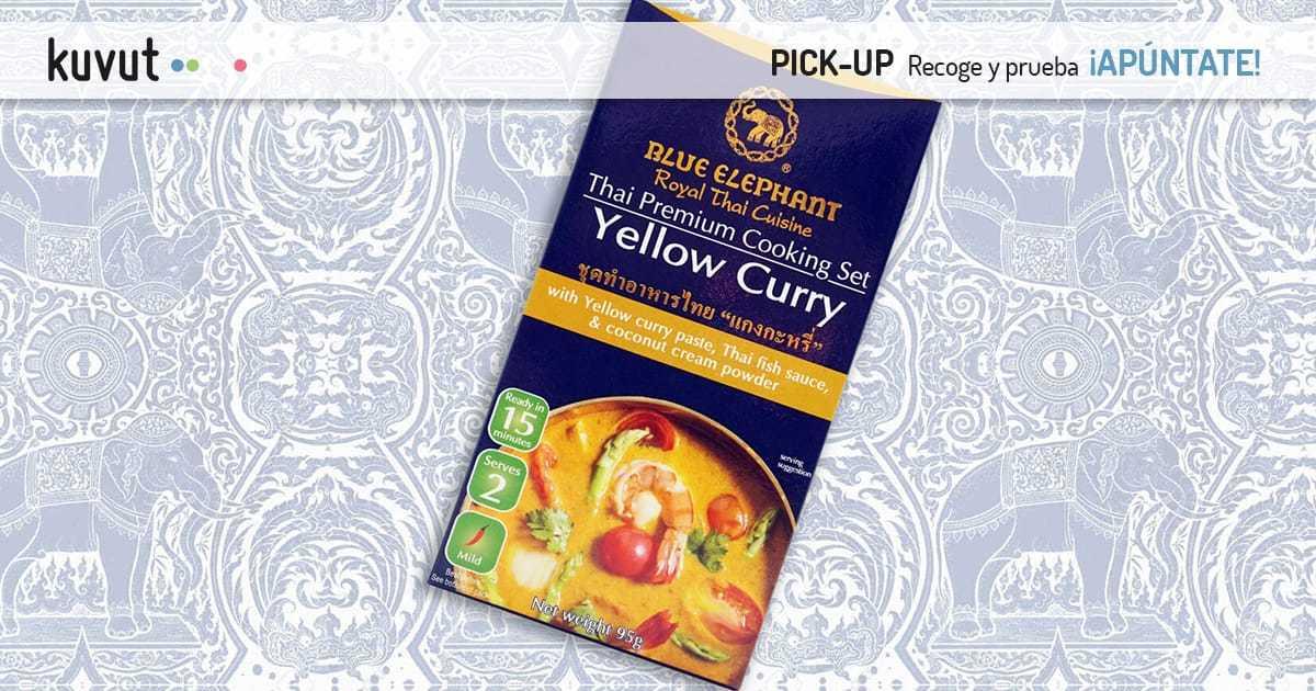 Blue Elephant Curry Amarillo