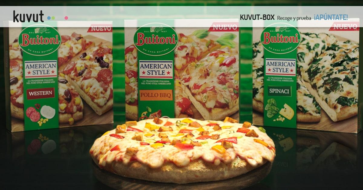 Pizza BUITONI American Style Pollo BBQ