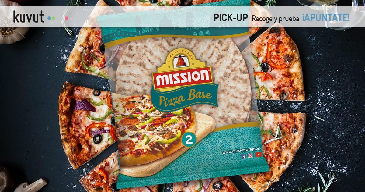 1 pack de 2 Bases de MISSION PIZZA