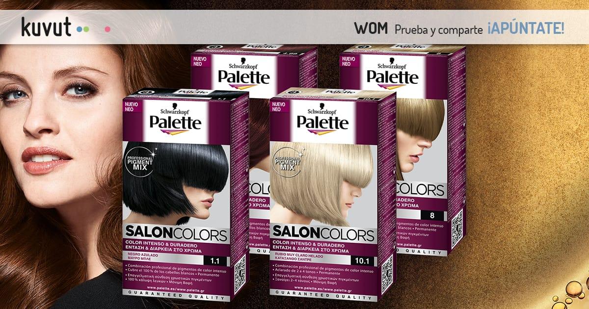 Palette Salon Colors de Schwarzkopf